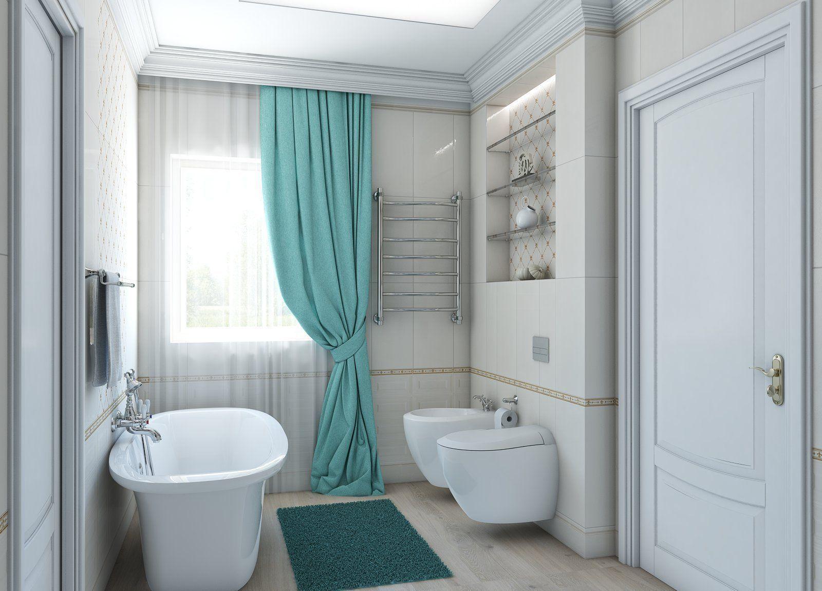 3D model Soft classic style Bathroom   CGTrader on Model Bathroom  id=82361