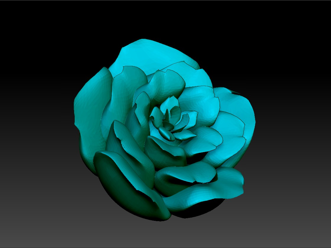 Rose Motiff 3d Model 3d Printable Obj Rfa Stl