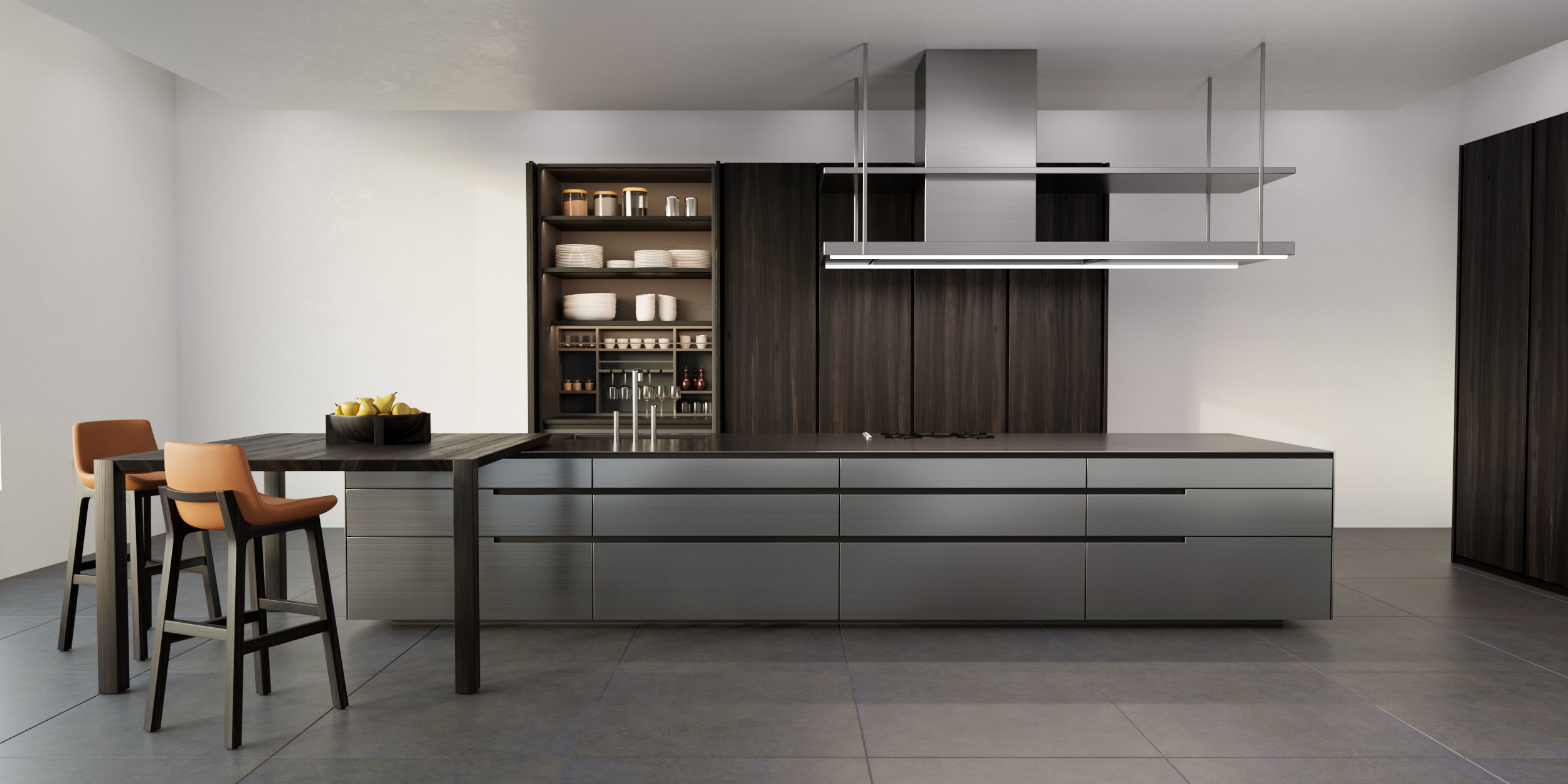 3D Poliform PHOENIX kitchen | CGTrader on Model Kitchens  id=35728