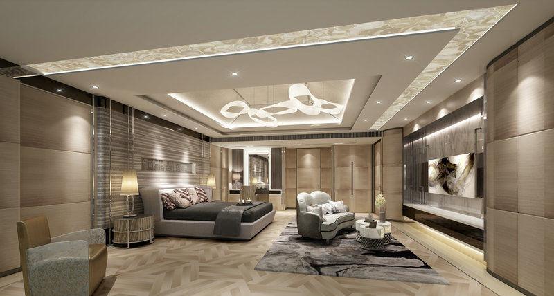 Interior design bedroom 3D | CGTrader on Model Bedroom Interior Design  id=89715