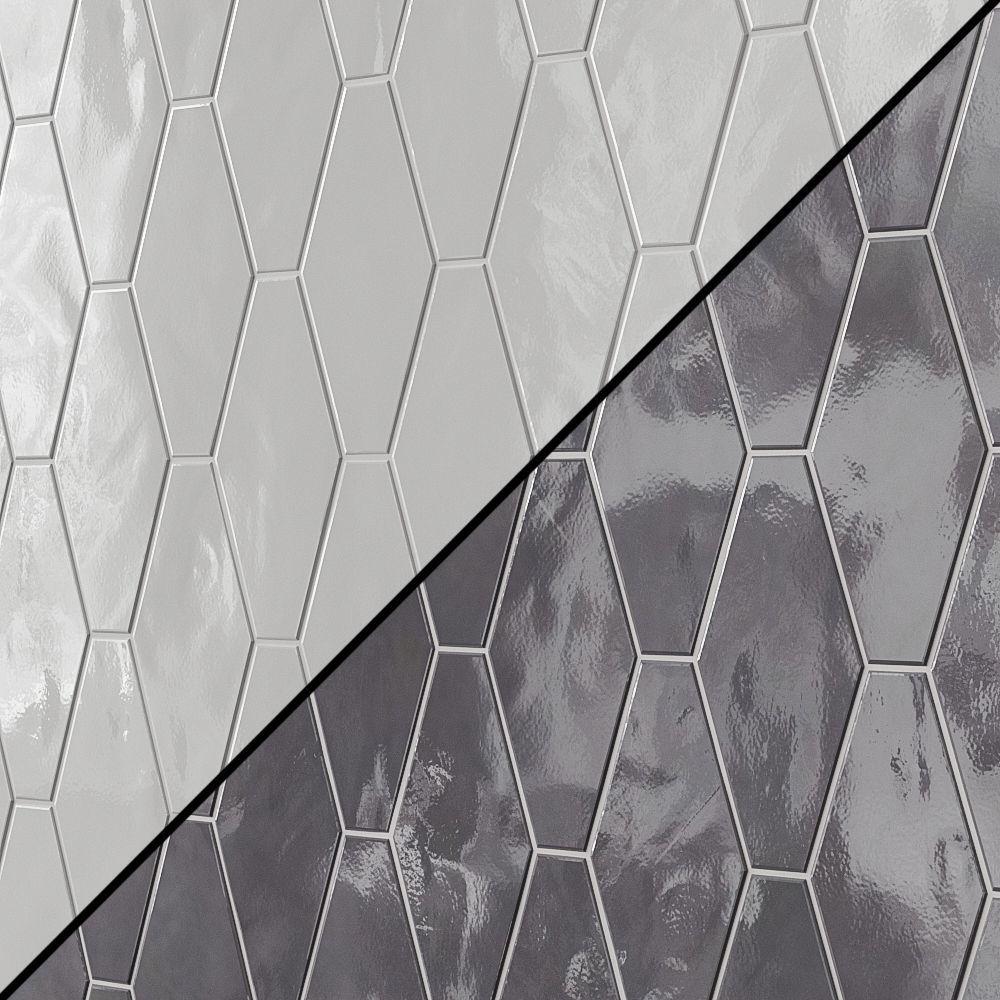 manchester hexagon ceramic tile 3d model