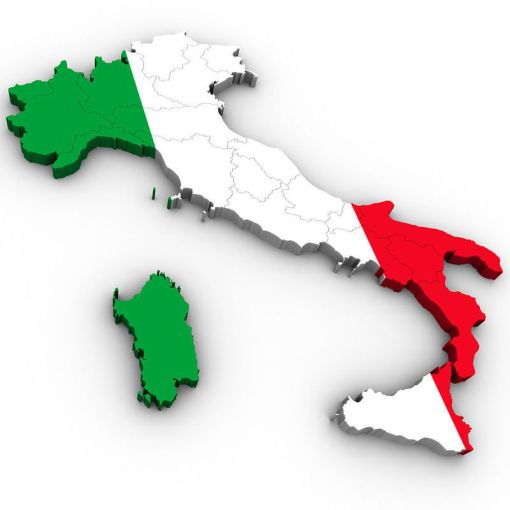 3D model Map of Italy   CGTrader     map of italy 3d model max obj 3ds mtl tga 2