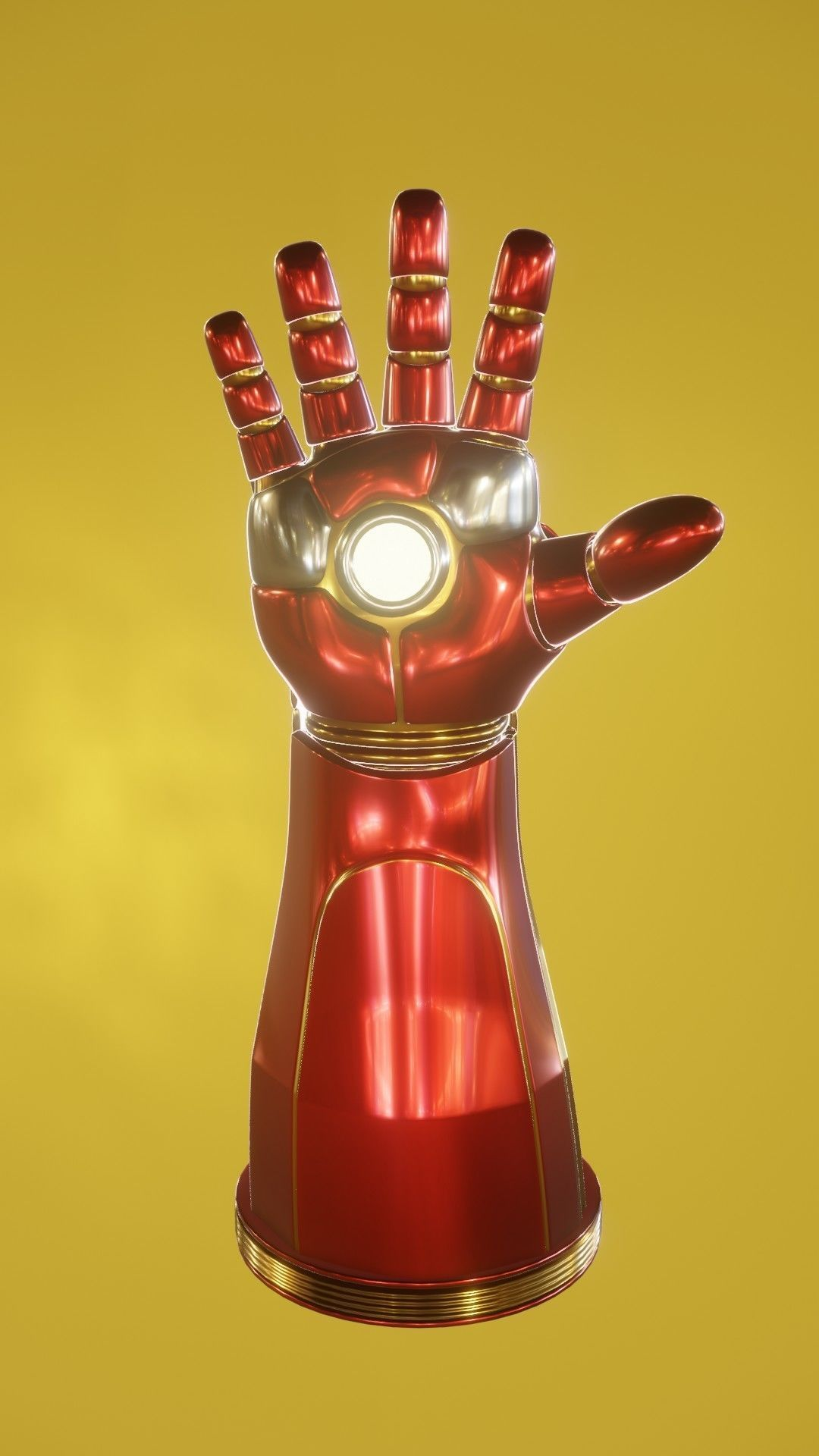 The infinity gauntlet is one of the most powerful objects in the universe. MJ Iron Man Infinity Gauntlet 3D model | CGTrader