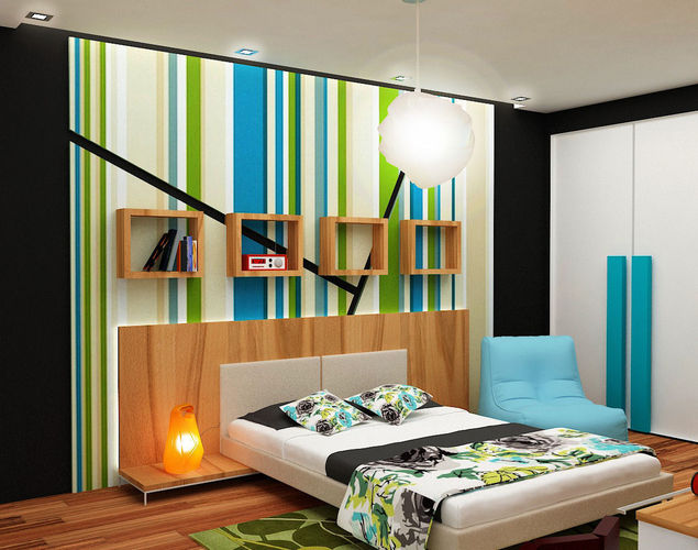 3D model architectural kids bedroom | CGTrader on Model Bedroom Ideas  id=95300