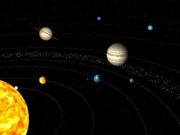 Solar system 3D model CGTrader
