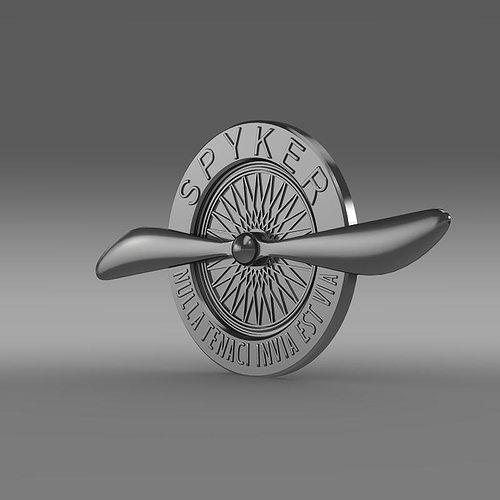 Spyker Logo 3d Cgtrader