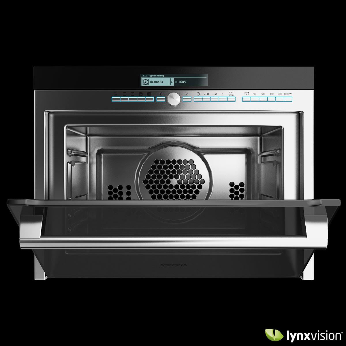 siemens multi function microwave oven 3d model