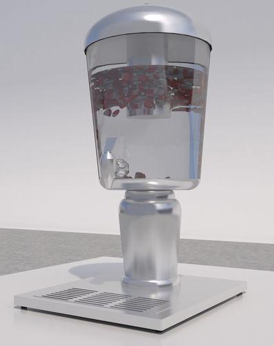 3D Model Juice Dispenser CGTrader