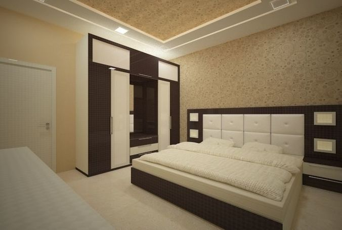 3D model Bedroom interior design by Vipin Verma on Model Bedroom Ideas  id=15133