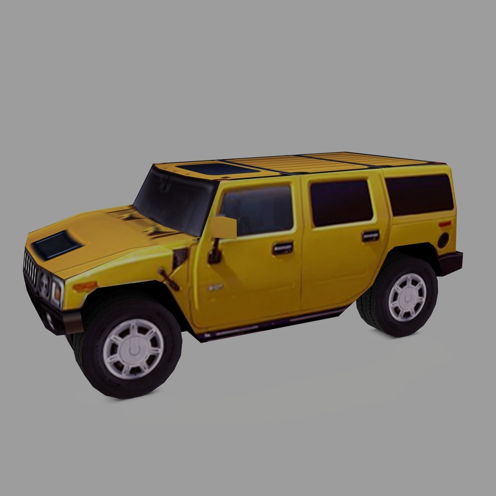 3D model HUMMER H2 4WD