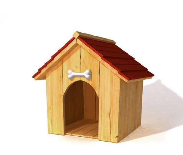 Doghouse 3d Model