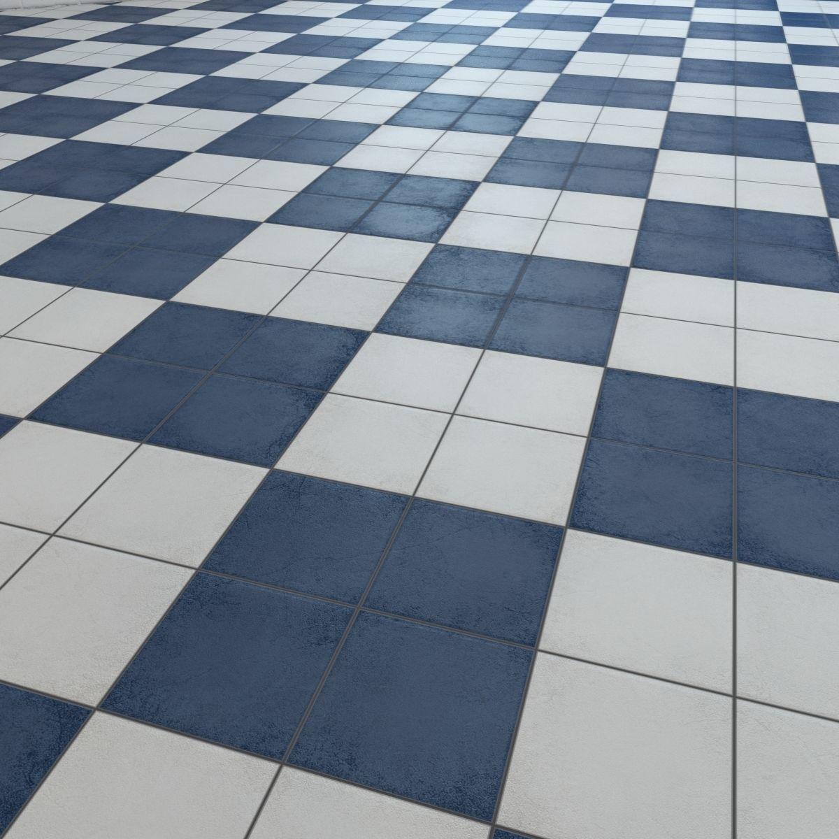 Floor tile Barber shop 3D Model MAX FBX   CGTrader.com on Tile Models  id=65713