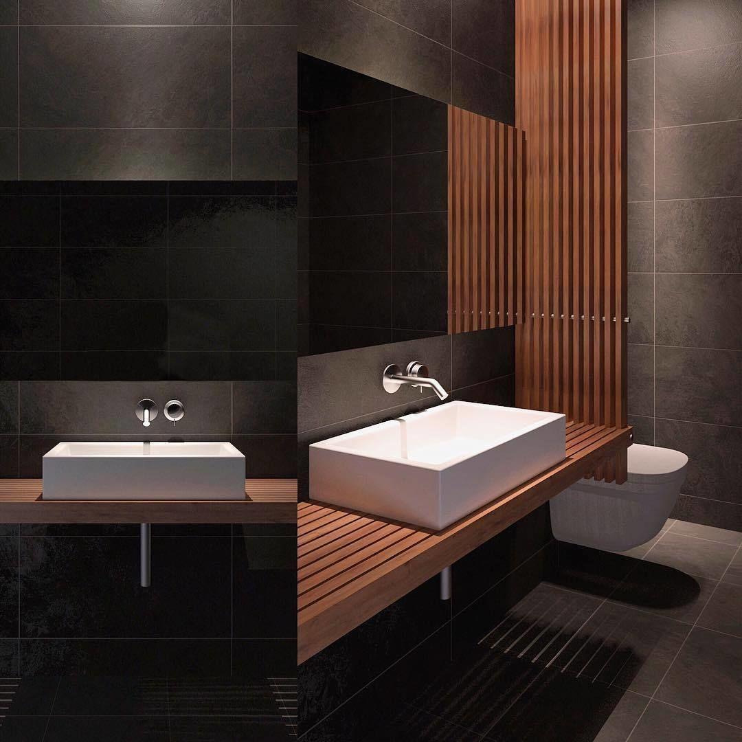 3D model sink Modern Bathroom | CGTrader on Bathroom Model Design  id=36150