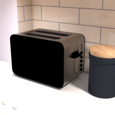 electric toaster 3D asset   CGTrader electric toaster 3d model low poly skp 1