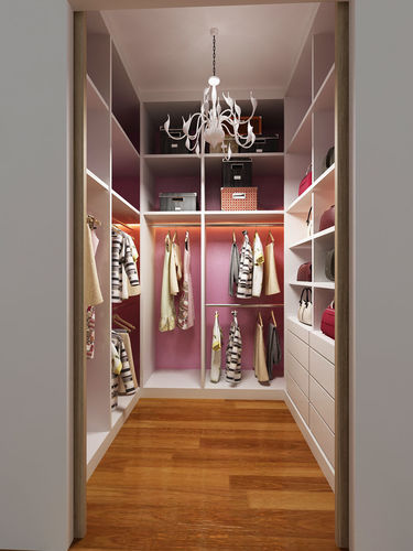 3D Walk In Wardrobe CGTrader