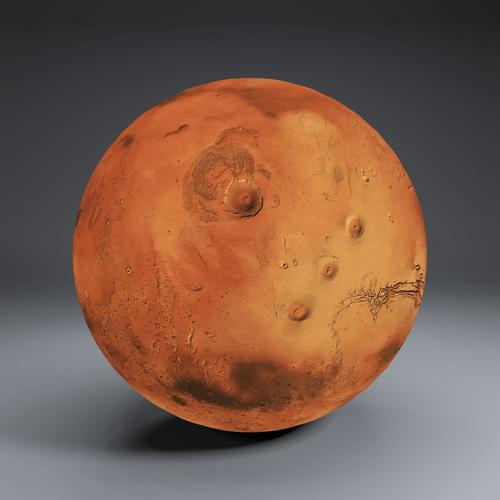 Mars 8k Globe 3D | CGTrader