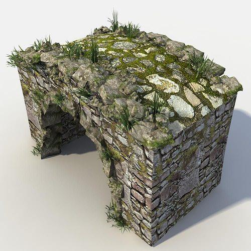 Stone Bridge 3D Model MAX OBJ FBX | CGTrader.com on Granite Models  id=48174