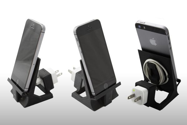 iPhone 5 6 or iPad Mini Stand with speaker... 3D Model 3D ...