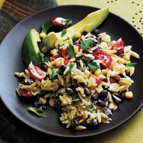 Orzo Salad with Spicy Buttermilk Dressing - 25 Best