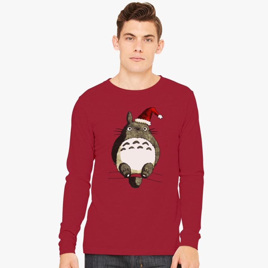 Totoro Christmas  Long Sleeve T-shirt