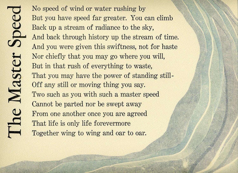 Limited Edition Letterpress Print Of Robert Frost Poem