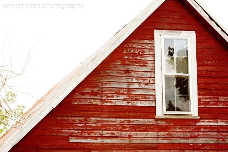 rustic red decor farm photograph barn art decor country decor fine art alabama photography gable window 8x12 - eireanneilis
