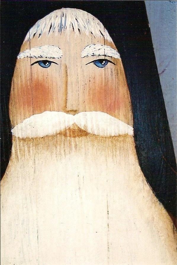 Prim Folk Art Santa St Nick Ironing Board E Pattern By