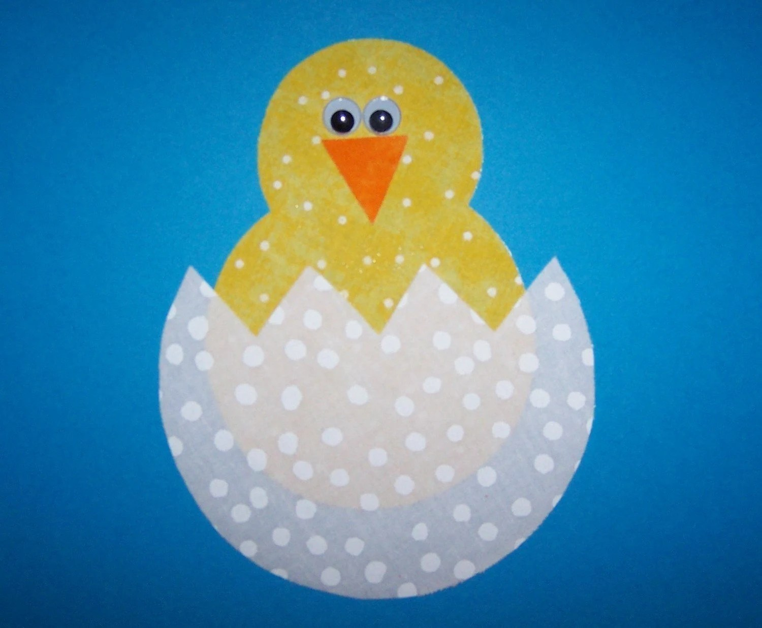 Items Similar To Fabric Applique TEMPLATE ONLY Easter Baby Chick On Etsy