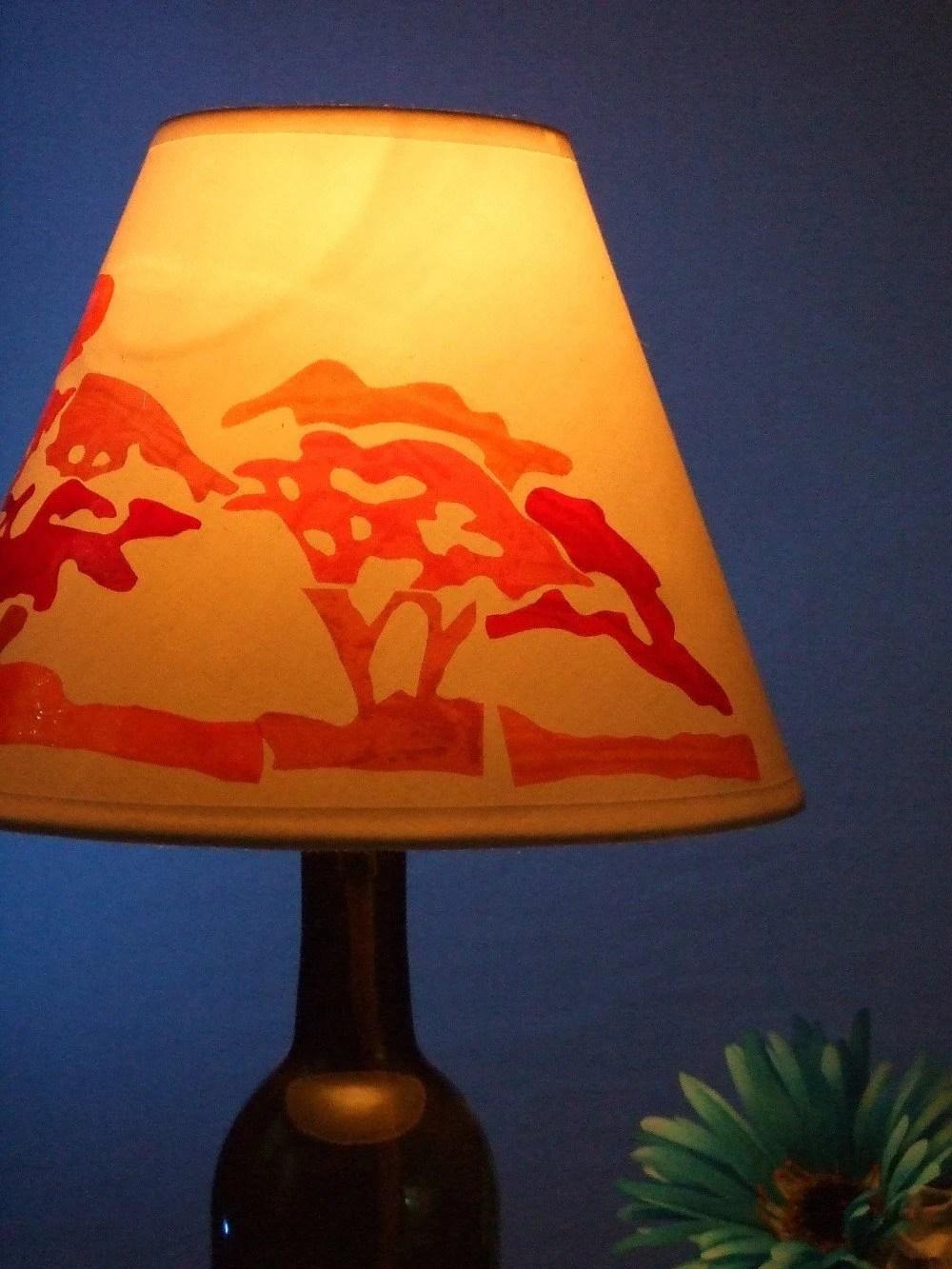 Lamp Shade African Theme