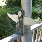 Primitive Rustic Garden Decor Photograph Wood Angel Co