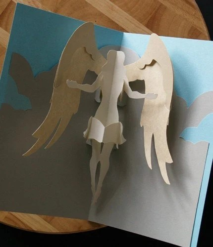 Kirigami Virgo Angel Pop Up Card Make Yourself