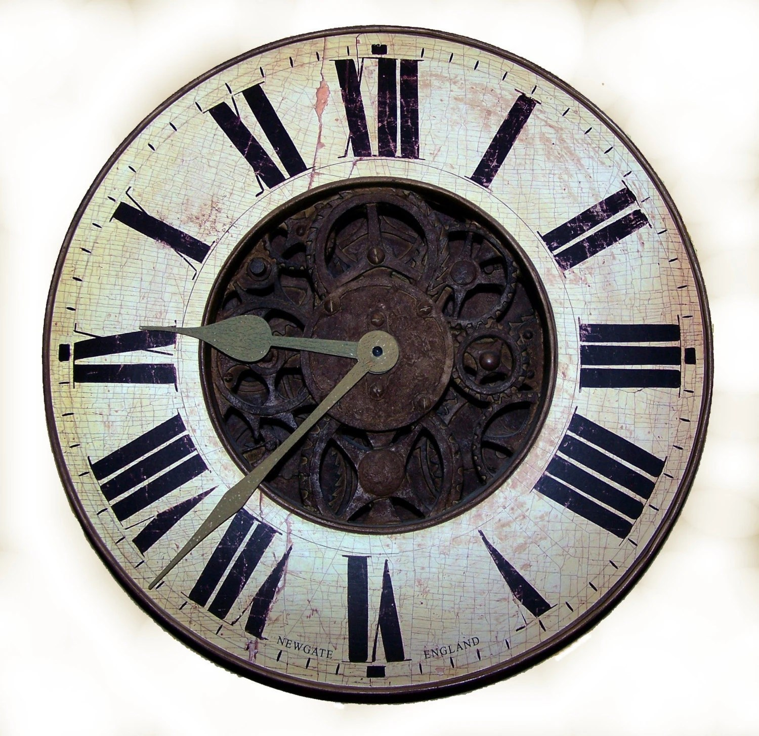 Vintage Clock Face Ii You Print Digital Image