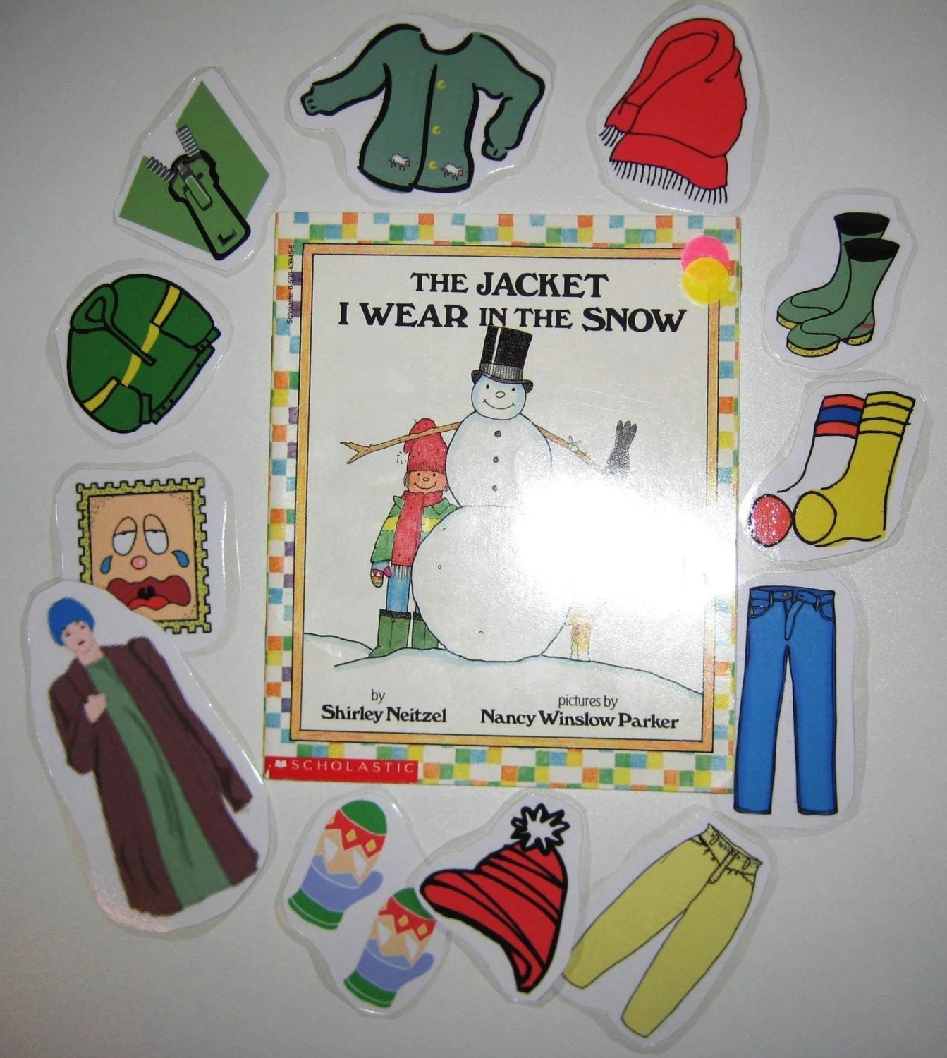The Jacket I Wear In The Snow Literacy Unit Story Cards