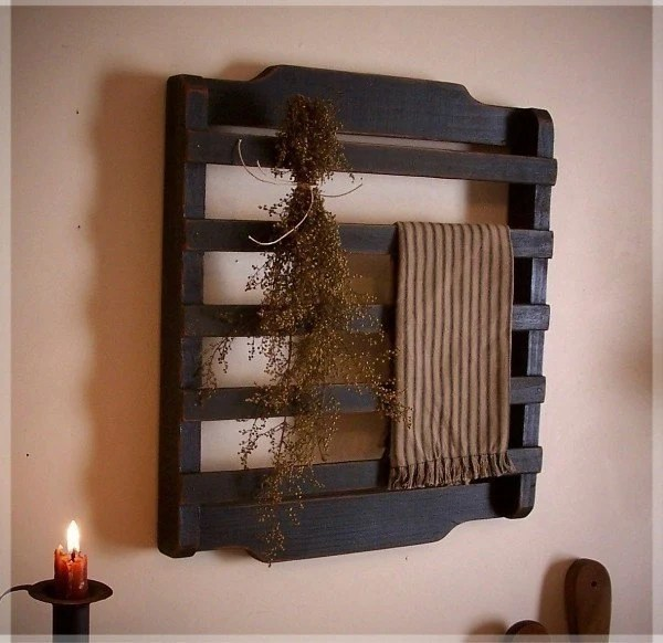 Olde Farmhouse Colonial Towel Or Dry Rack Washroom Kitchen
