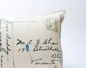 postcard pillow - pilosale