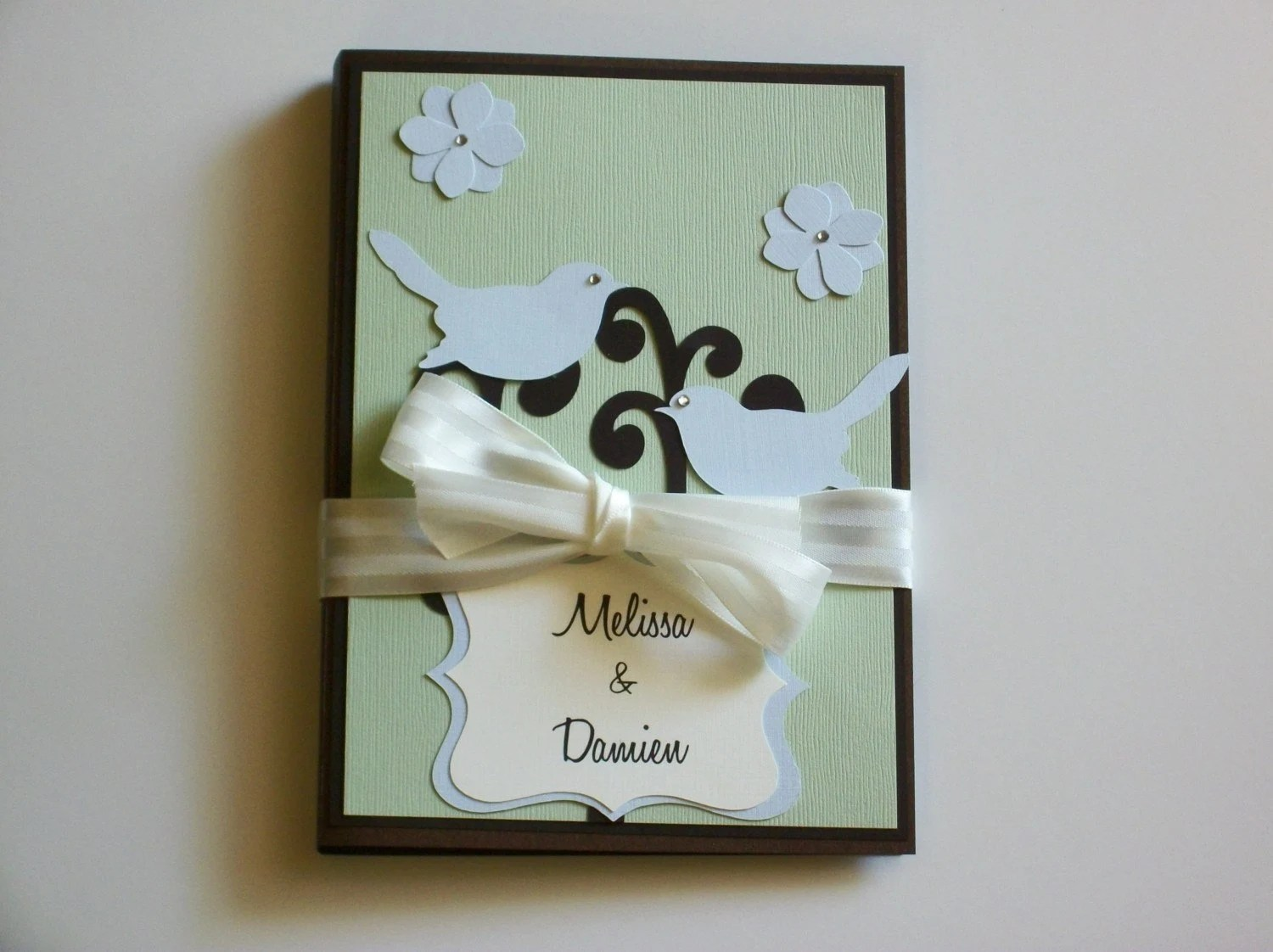 Custom Wedding Planner And Organizer-perfect Engagement Gift