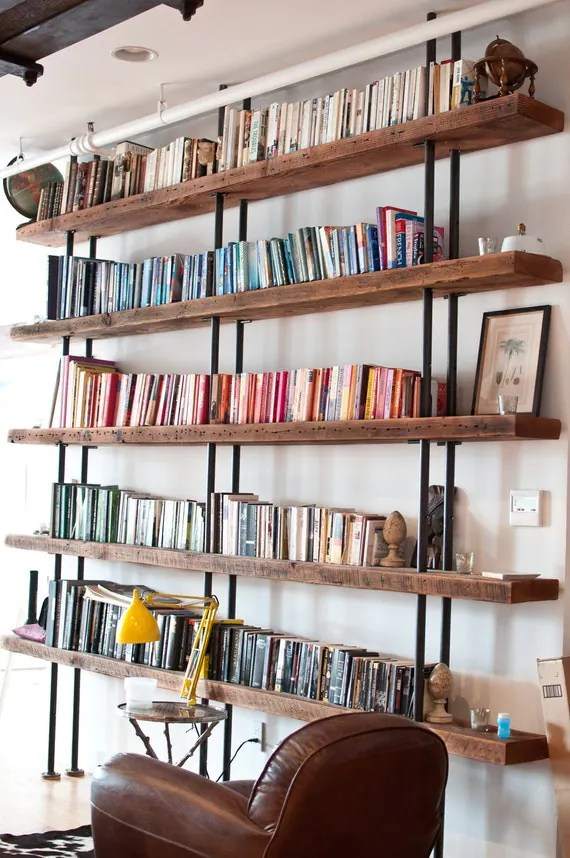 ON SALE - Reclaimed Bookcase - Tribeca Bookcase - Was 7,200 Now 5,700 Dollar