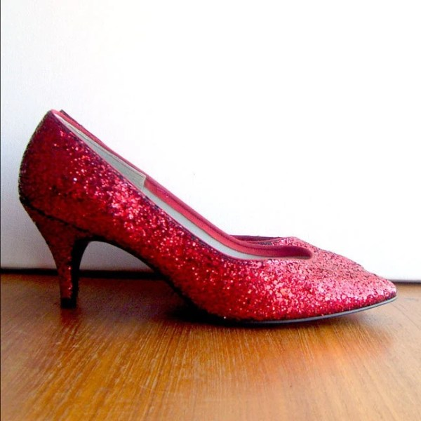 Dorothy's Red Ruby Slippers Size 8