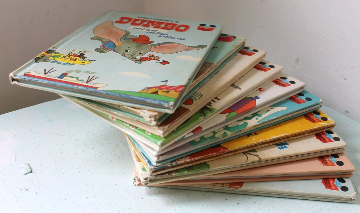 Disney S Wonderful World Of Reading Books 10 Vintage
