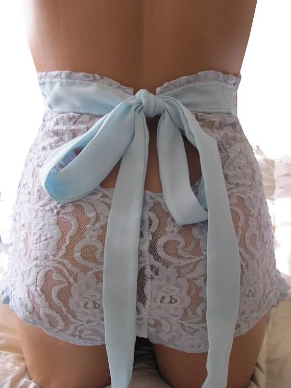 Items Similar To Key Hole Bride High Waisted Panties On Etsy