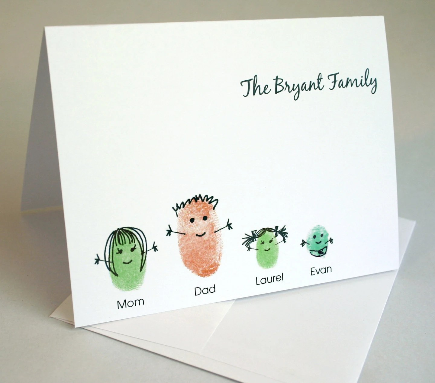 Articles Similaires Family Stationery Your Thumbprint
