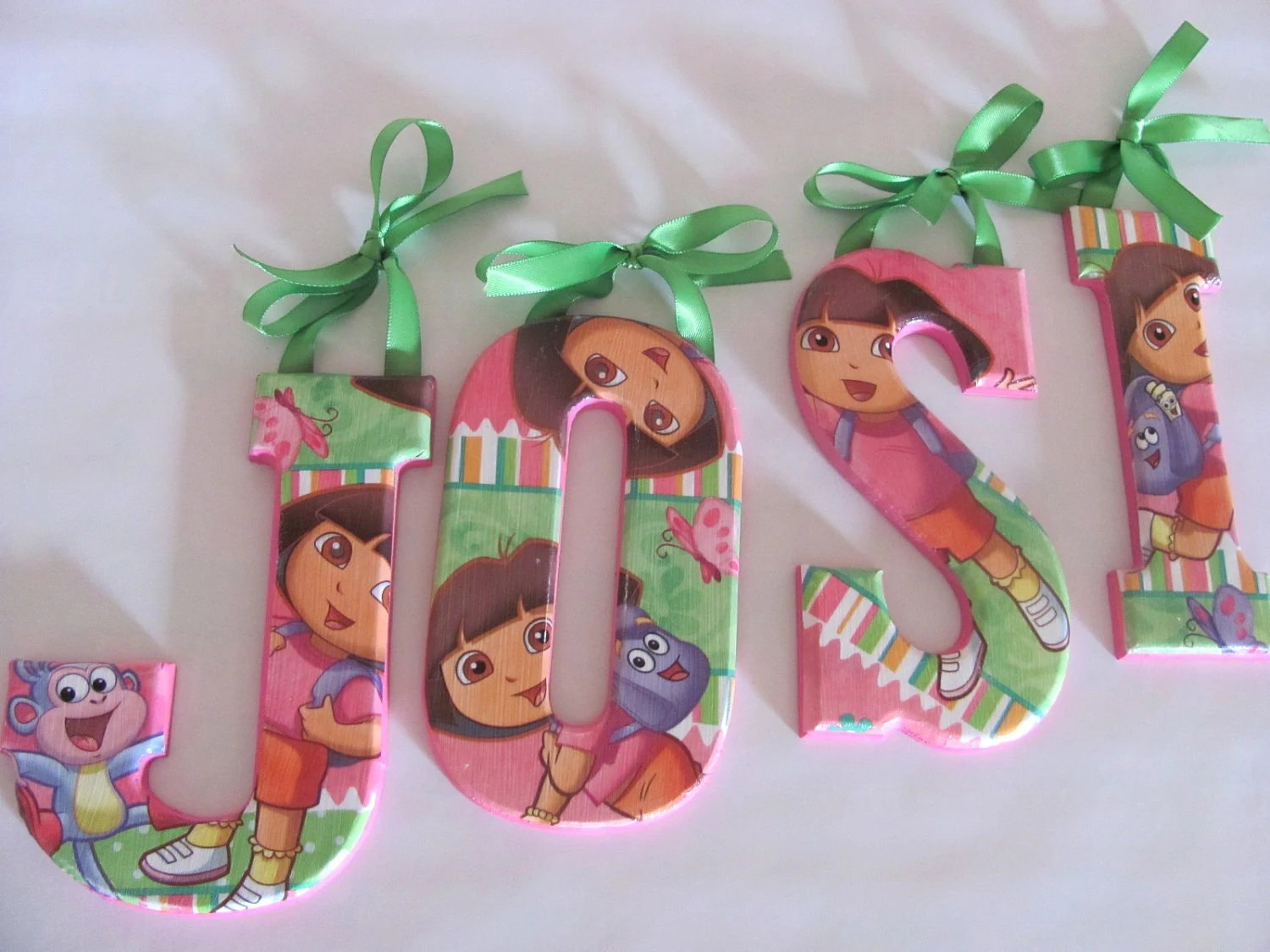 Dora The Explorer Wall Letters Reserved For Kaylee