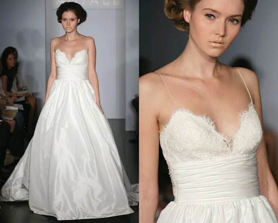 Princess Ballgown Wedding Dress With Lace By