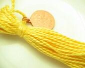 Yellow Cotton Tassel - lizbethsgarden
