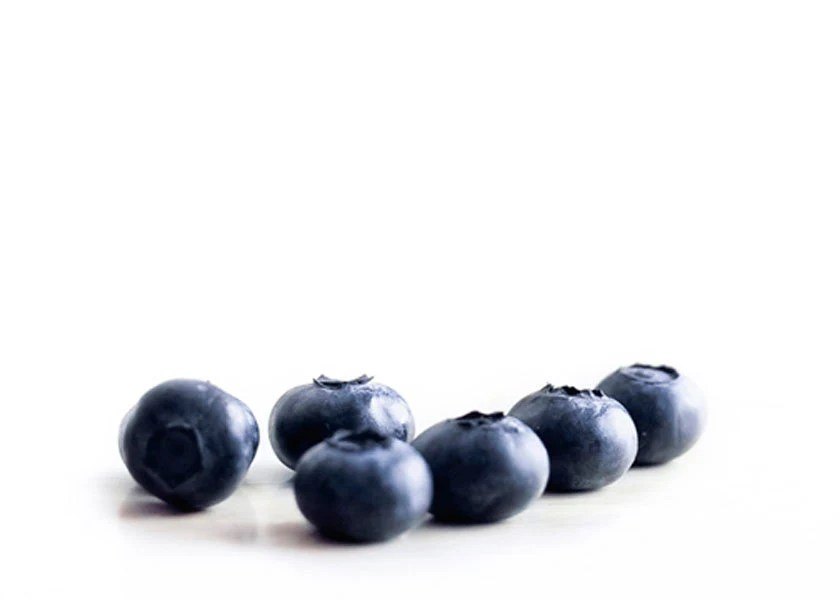 Food photography, Blueberries, minimalist, sapphire, kitchen, indigo, blue, fruit still life - Raceytay