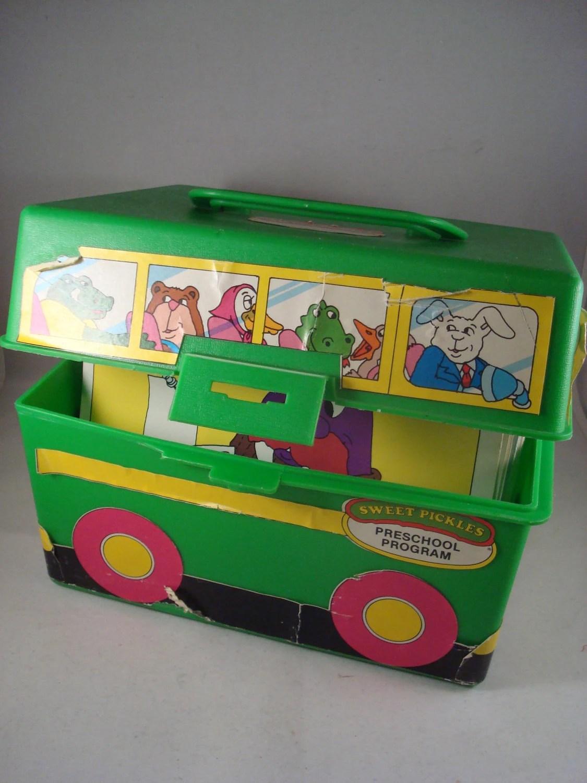 Rare Vintage Sweet Pickles School Bus Preschool Program