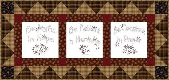 Be Joyful Hand Embroidery E Pattern By Primandpropercottage