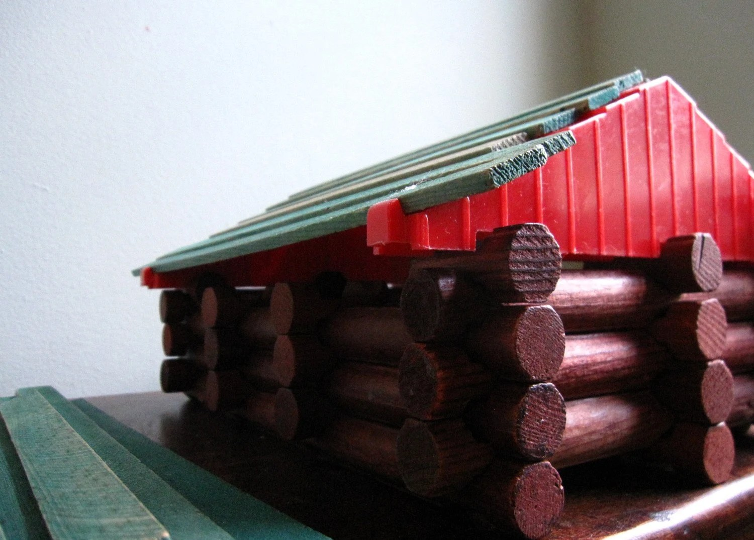 Lincoln Logs By Playskool 1974 Frontiersman Set By APKVintage