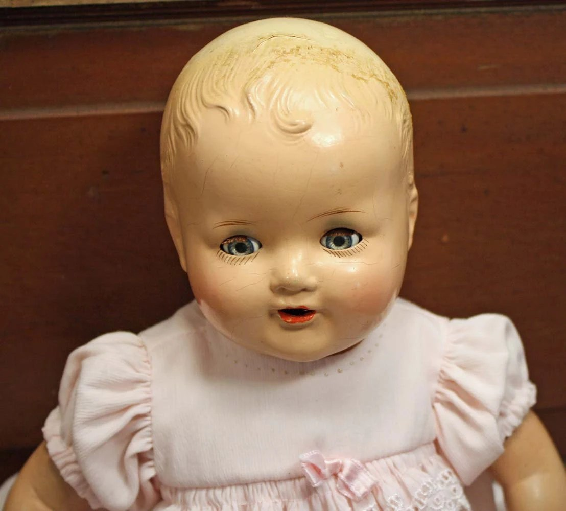 Compositon Baby Doll American Character Doll Open Mouth And