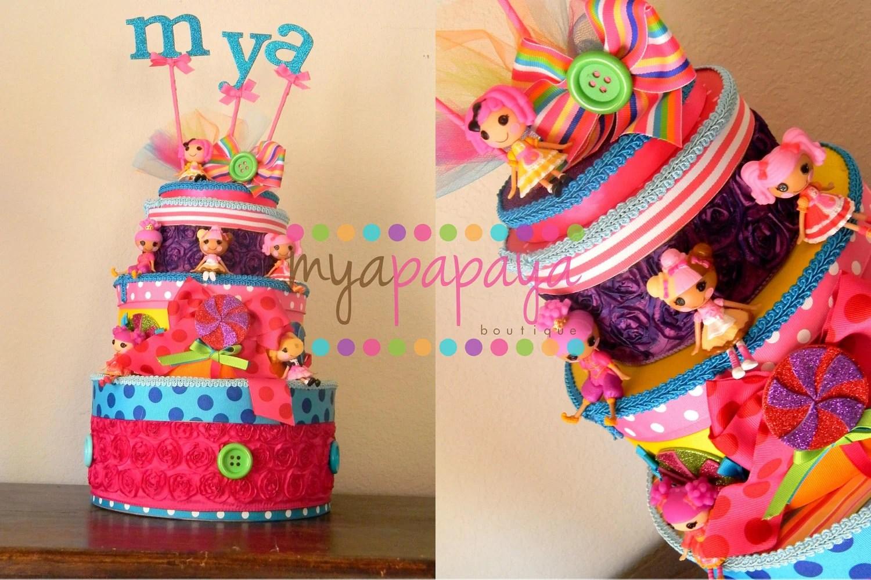 Candyland Lalaloopsy Birthday Cake By Myapapayaboutique On